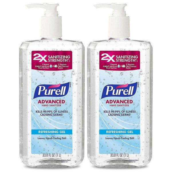Purell Hand Sanitizer 1 Liter Pump 2 Pk Back In Stock