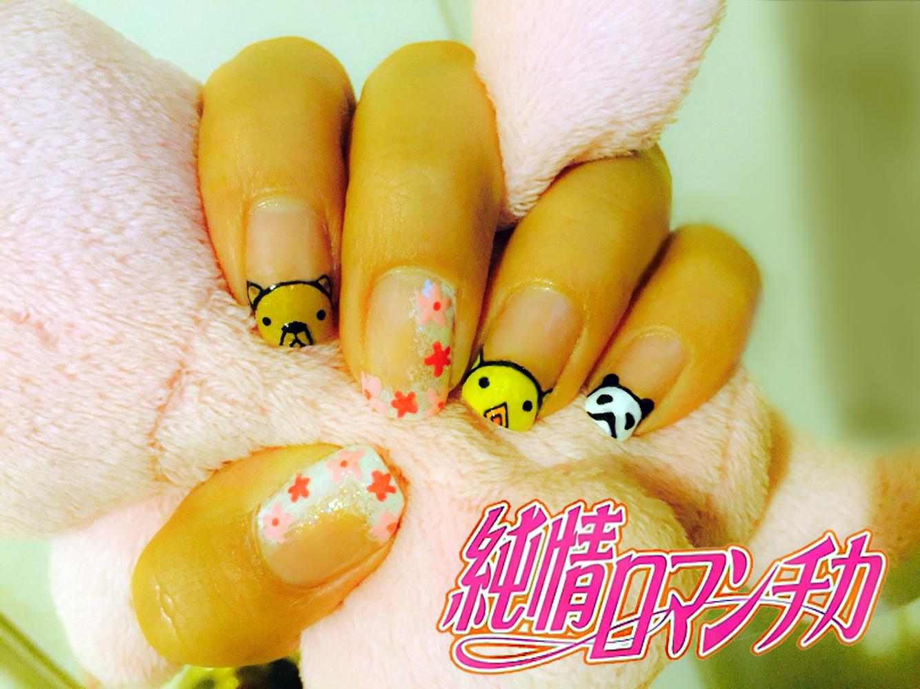 Junjou Romantica anime nails | ❤️anime❤ | Pinterest | Anime nails