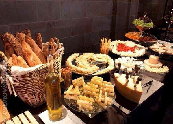 Banquetes de bodas vegetarianos mi boda pinterest - Mesa de quesos para bodas ...