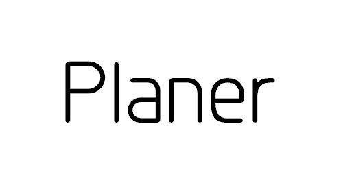 Planer Font