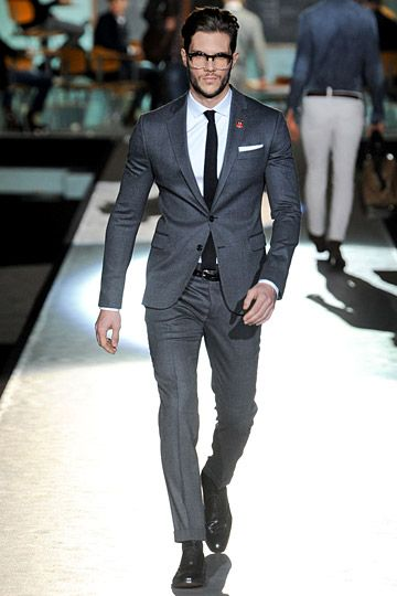 Dsquared2 Fall 2012 Menswear Fashion Show | Walks, Suits and Style