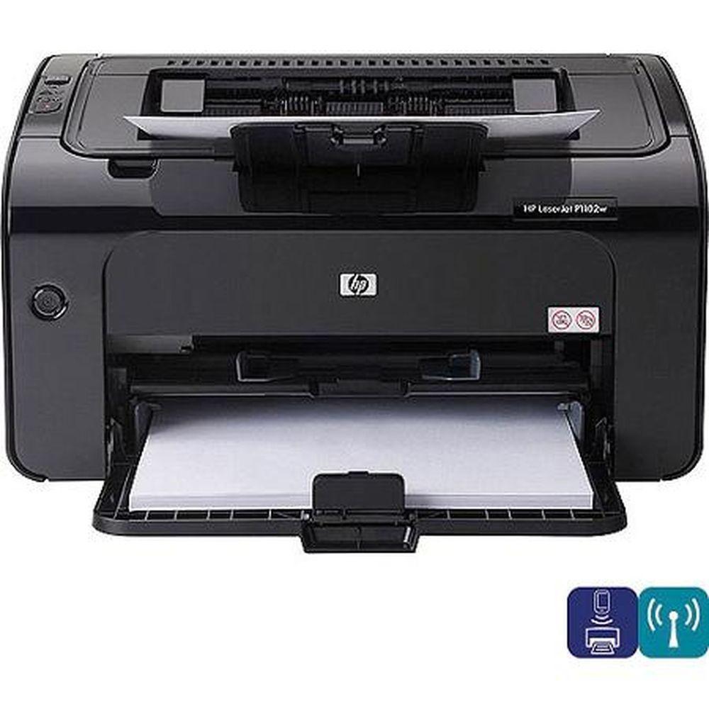 Hp Laserjet Pro P1102w Laser Printer 886111917143 Hewlettpackard Wireless Printer Laser Printer Hp Printer