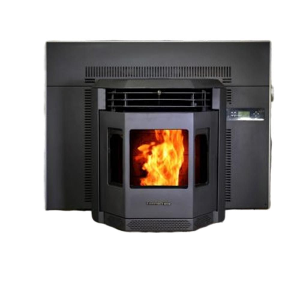 Comfortbilt 2800 Sq Ft Epa Certified Pellet Stove Fireplace Insert With A 47 Lbs Hopper Hp22i The Home Depot In 2020 Stove Fireplace Pellet Stove Fireplace Insert Pellet Stove