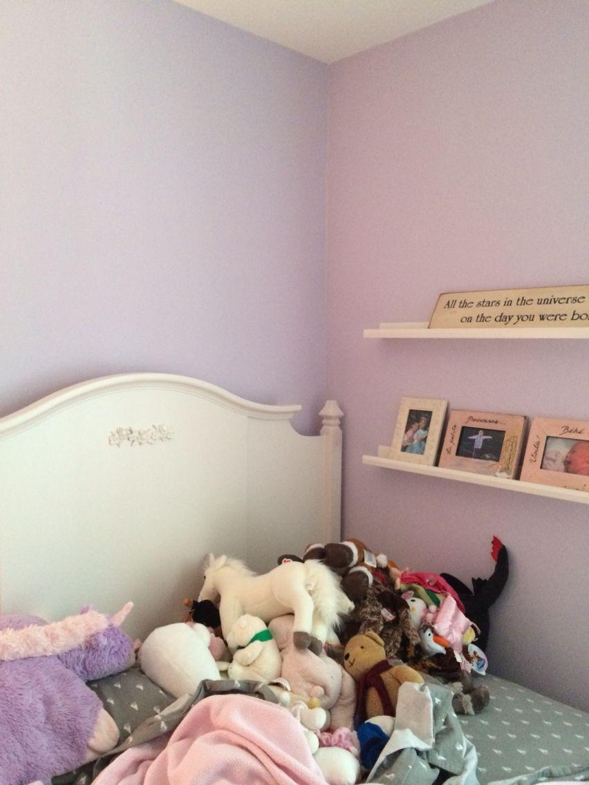 Ben Moore Lavender Ice In  Big Girl Bedrooms