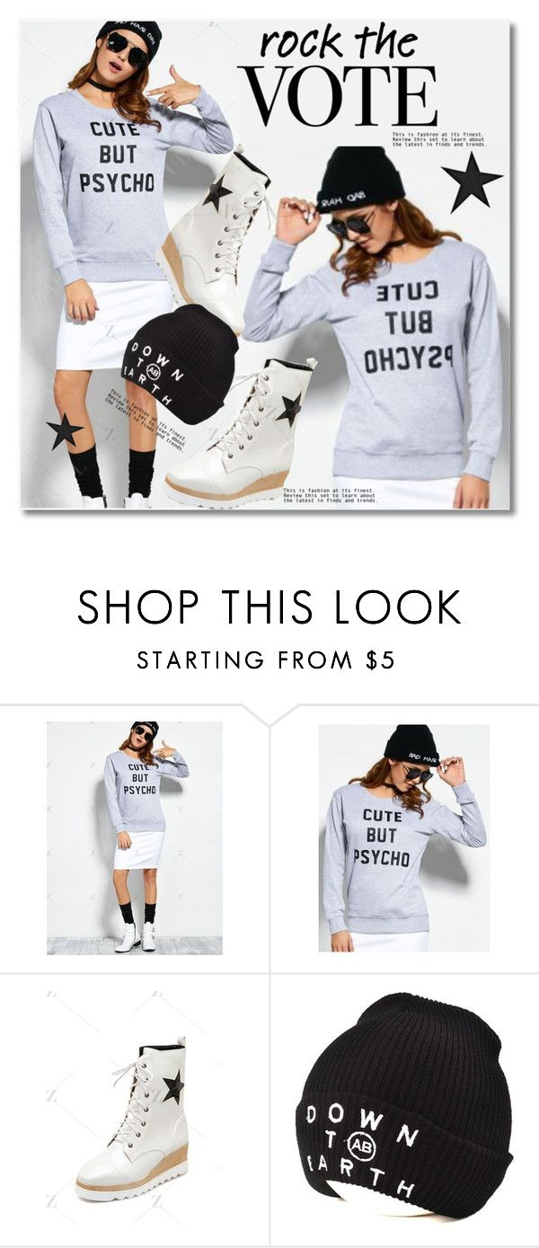 """""""Rock the Vote in Style"""" by svijetlana ❤ liked on Polyvore"""