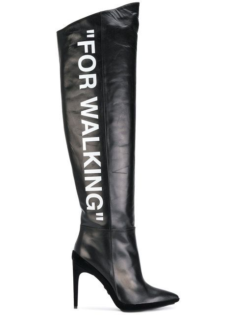 1f0c92571 Gianvito Rossi Leather Laura Knee High Boots ( 1
