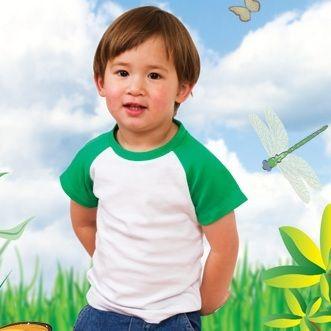 Blank Clothing - SAM | kids t-shirts two-tone raglan organic cotton clothing