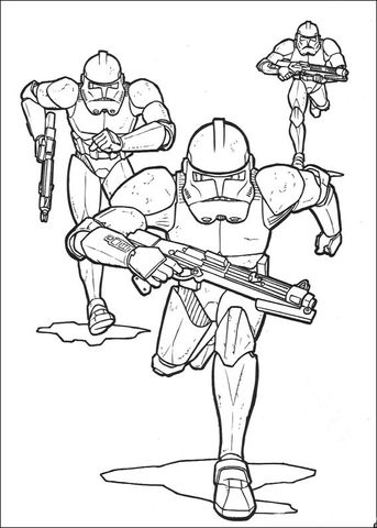 Star Wars Clone Troopers Coloring Page From Revenge Of The Sith Category Select From 29298 Printable Craf Star Wars Drawings Star Wars Prints Star Wars Crafts