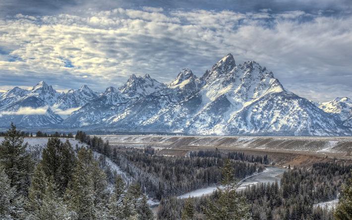 Telecharger Fonds D Ecran Paysage De Montagne Hiver Neige
