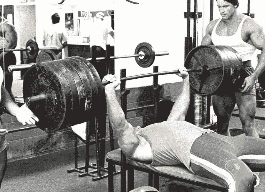 3 Fundamentals Of A Powerful Bench Press Png 900 652 Bench Press Arnold Schwarzenegger Exercise