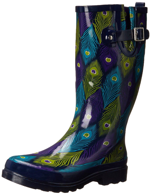 Western Chief Womens Printed Tall Rain Boot