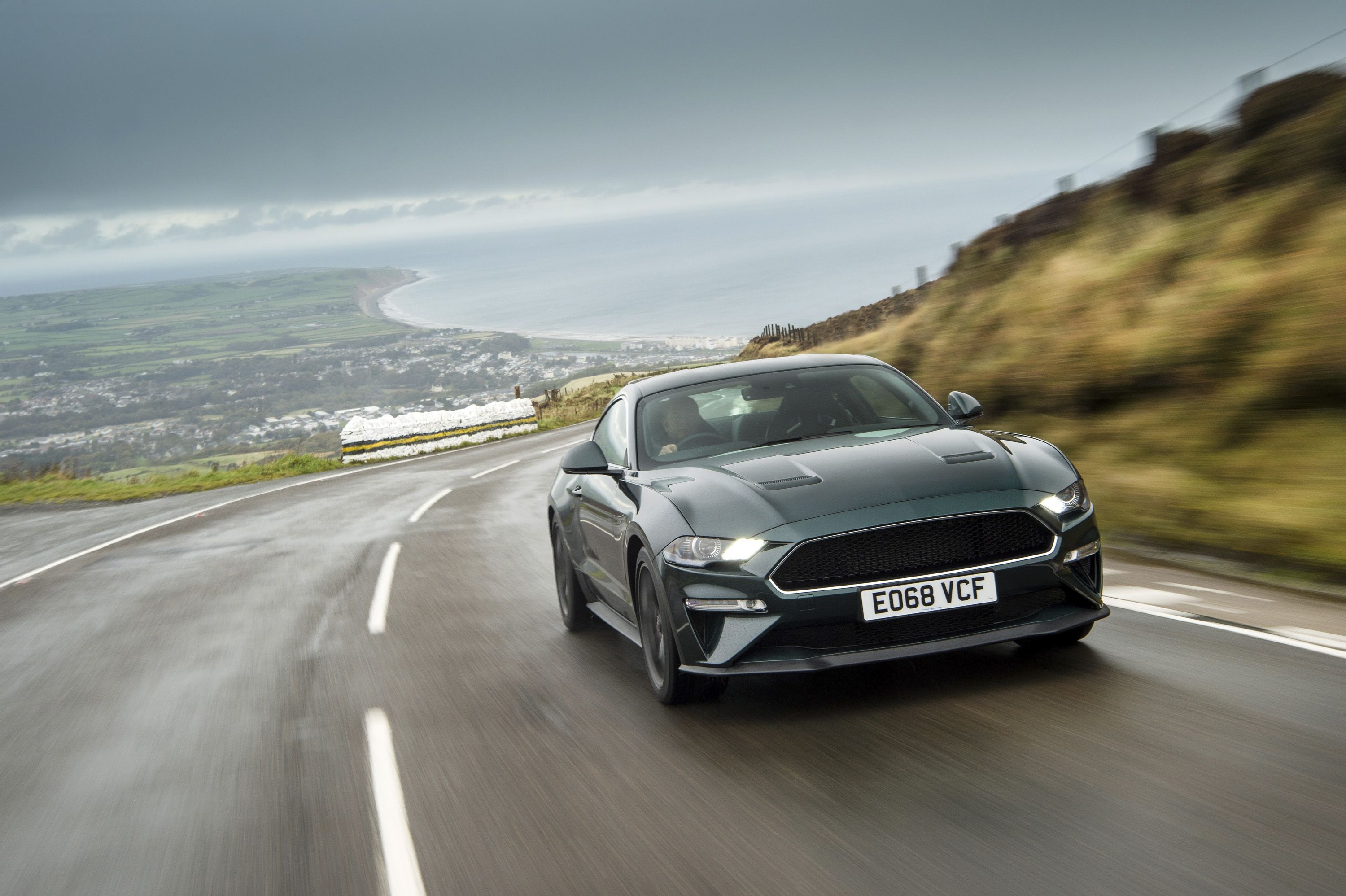 Watch A Ford Mustang Bullitt Rip Across The Isle Of Man Tt Course