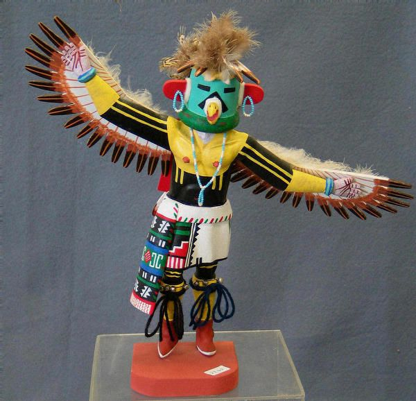 recipe: hopi eagle dancer kachina [6]