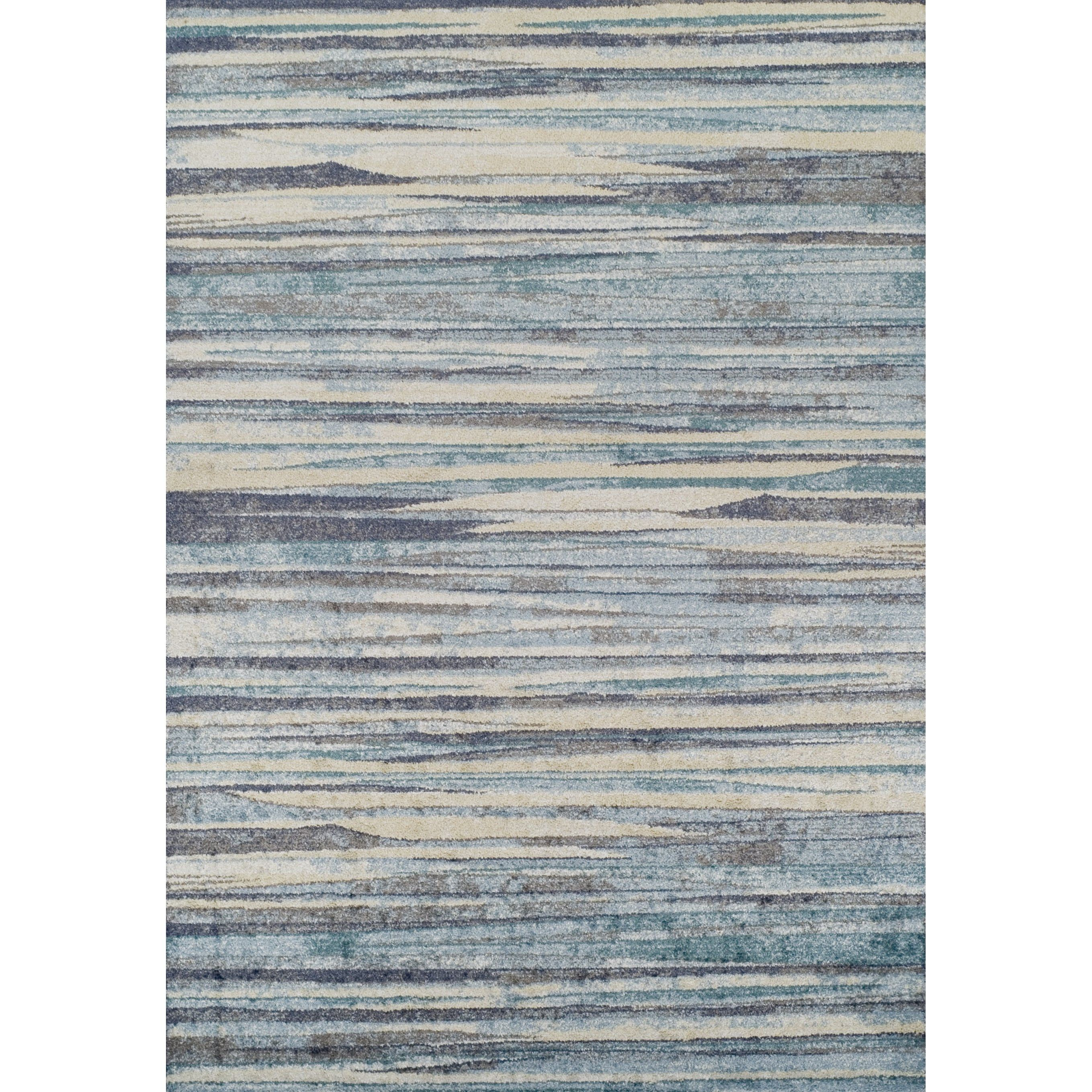 Addison Blair Blue Beige Abstract Striped Area Rug Beige Area Rugs Area Rugs Rugs