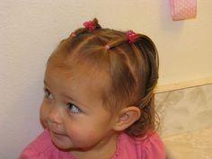 schöne frisur styles für kleinkind mädchen - neue haare