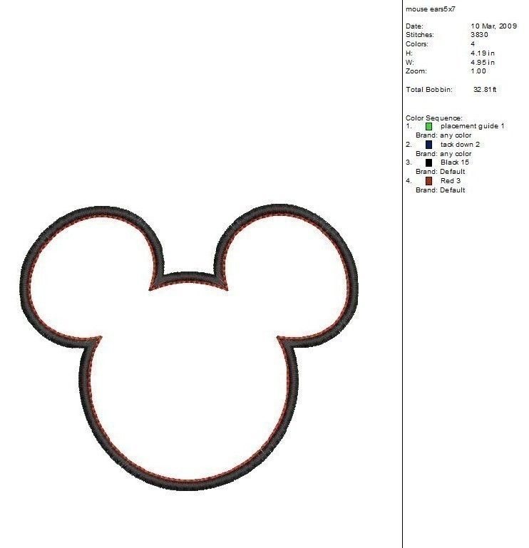 Mickey Mouse Ears Clip Art Mickey Mouse Silhouette Mickey Mouse Quilt Minnie Mouse Clipart
