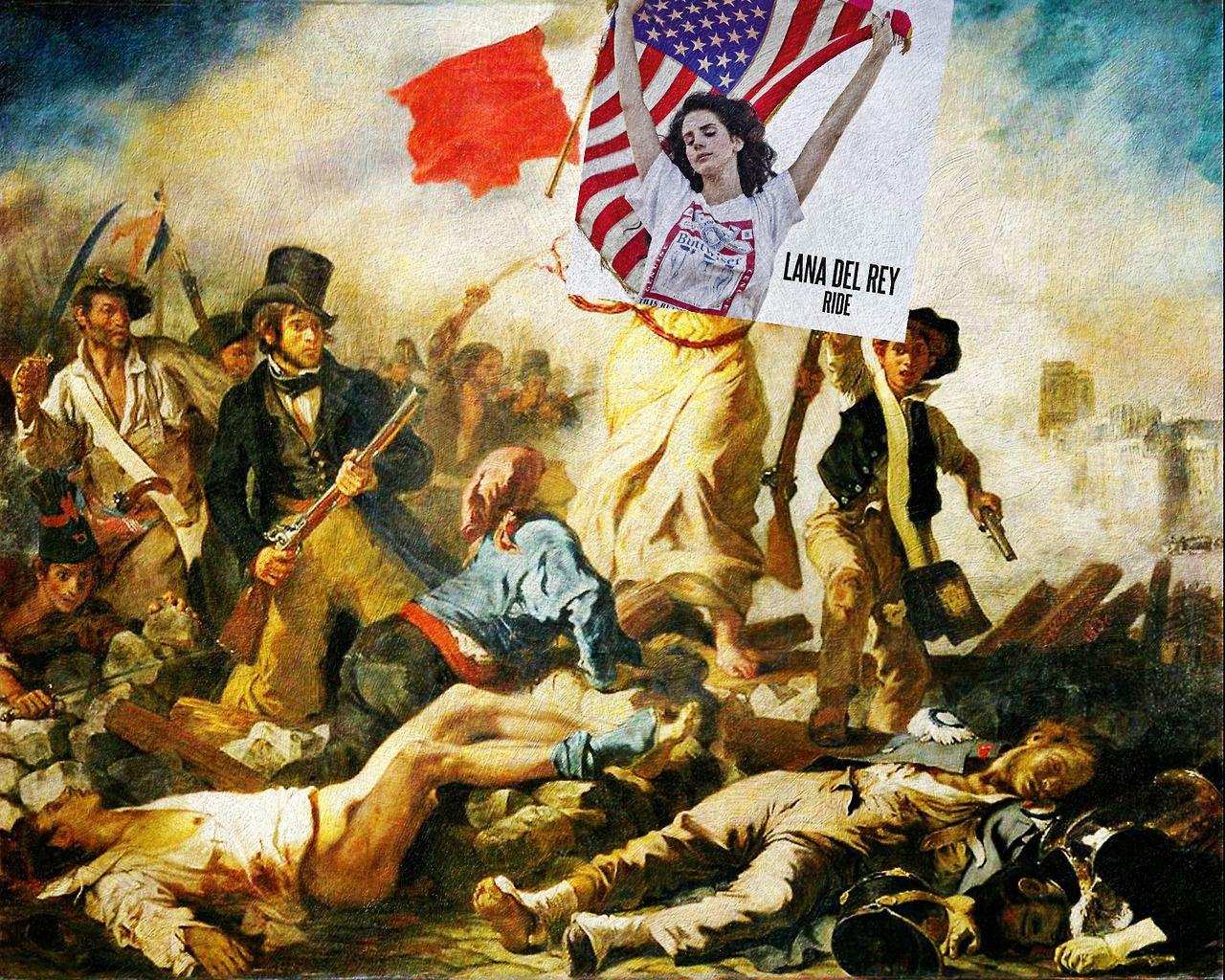 Eisenbernard I Fall Asleep In An American Flag Ride By Lana