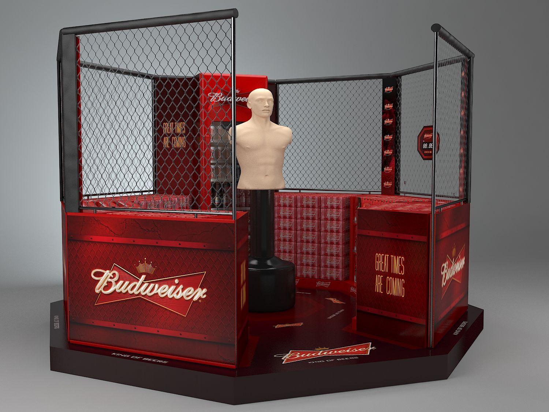 Budweiser on Behance Supermarket design, Budweiser