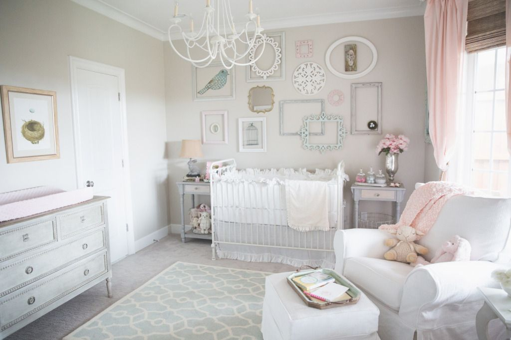 Dainty Soft and Sweet NurseryPaint colors Galleries and Frame