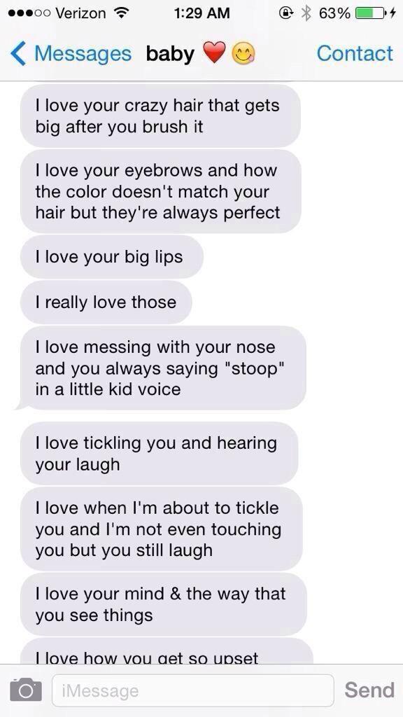 Sex love text message