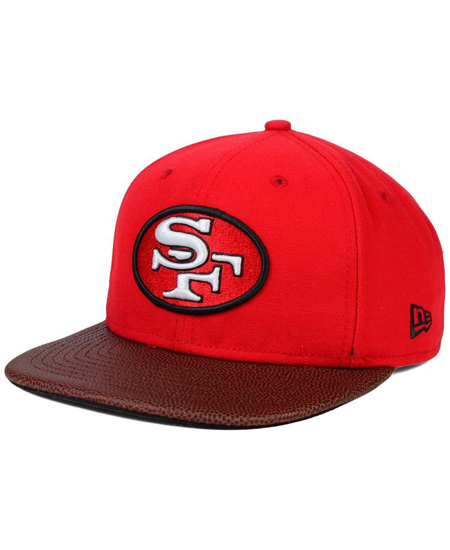 New Era San Francisco 49ers Super Bowl Xxiv Athlete Vize 9FIFTY Snapback Cap