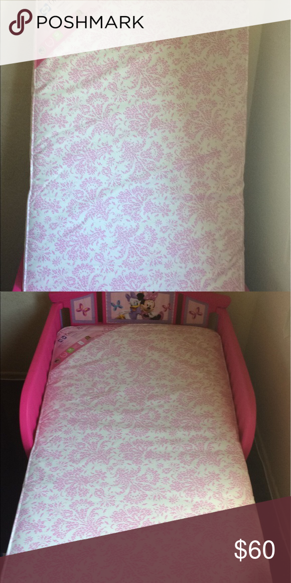 Minnie mouse girl toddler bed with mattress Brand-new ...