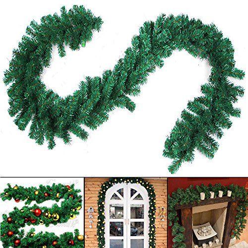 Sims 3 Seasons Christmas Tree: Newdanceus 9 Feet Christmas Garland Christmas Garland