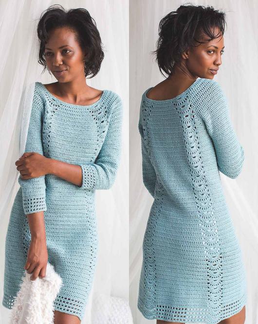 Tranquil1 Домоседка   Crochet Vestidos   Pinterest   Vestiditos ...