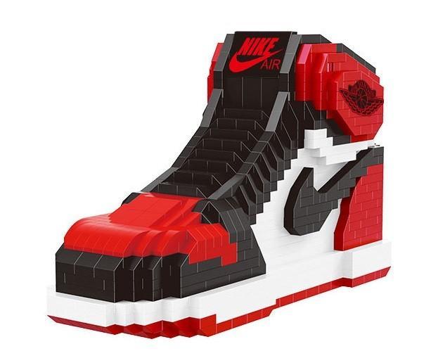 Balody 16111 Aj Basketball Legoes Janeribbon Nike Jordan Basketball Nike Shoes