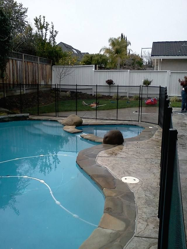 Pool Fence For Any Pool Baby Barrier Pool Fence Pool Gallery