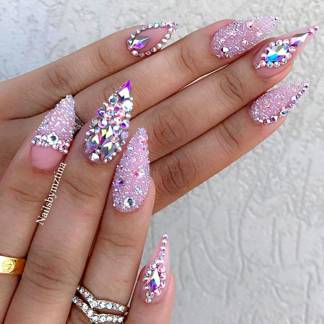 Glamorous Stiletto Nail Designs Youll Adore ☆ See more:  https://naildesignsjournal.com/stiletto-nail-designs-you-adore/ #nails - 27 Glamorous Stiletto Nail Designs You'll Adore Pinterest Beauty