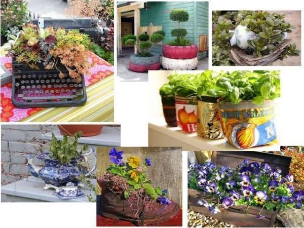 Crafty Container Vegetable Gardening Design, Ideas and Tips
