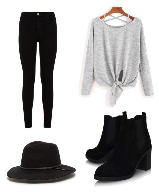 """April outfit 😋"" by emma92266 ❤ liked on Polyvore featuring 7 For All Mankind and Topshop"