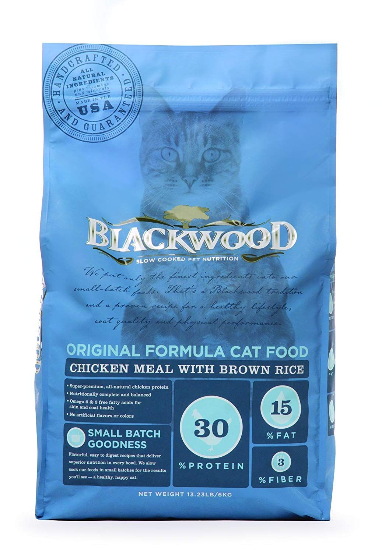 Blackwood Pet Food Original Formula Cat Food Chicken Meal With
