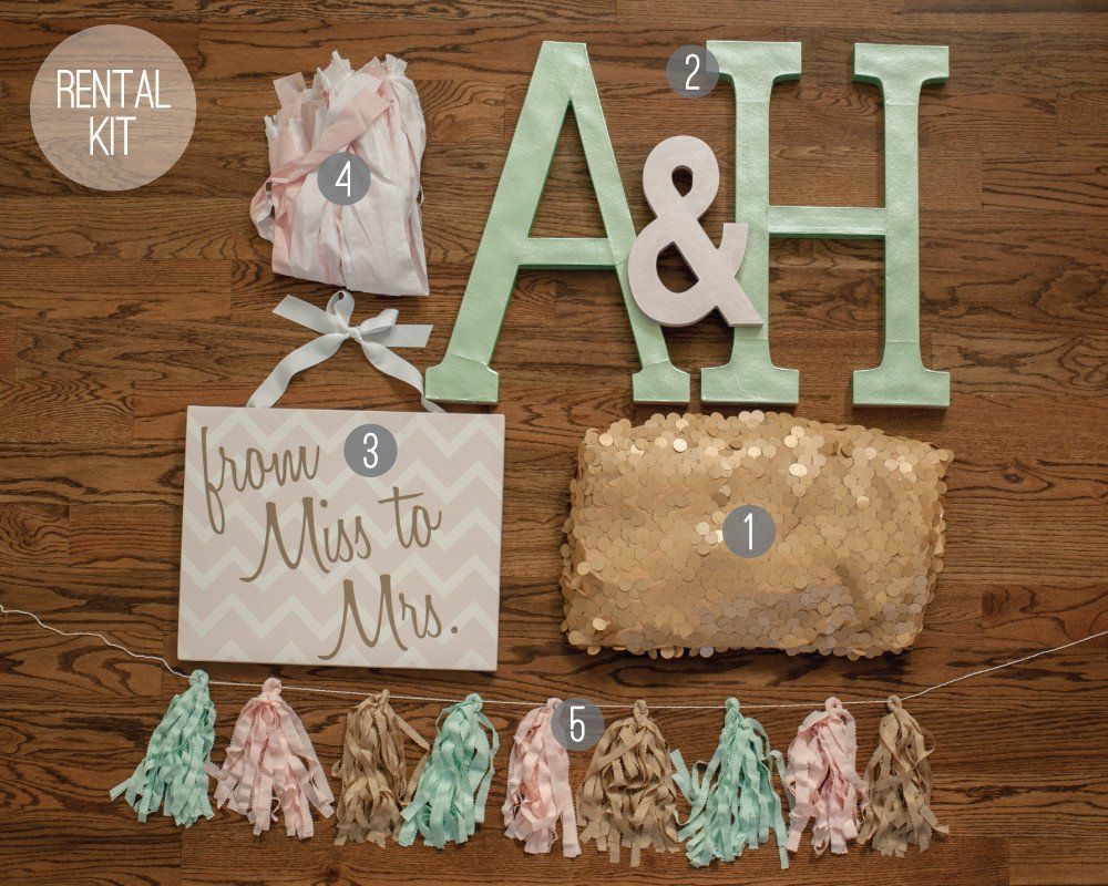 mint to be glam bridal shower hostess kit undercover hostess 10