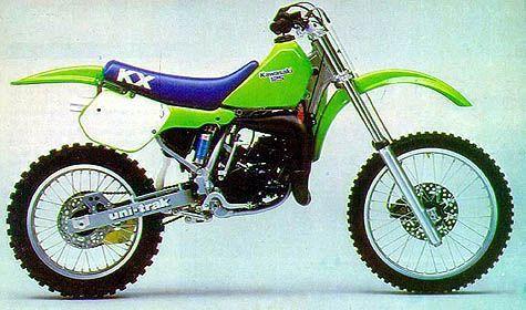 1987 kawasaki kx 125 moto bikes pinterest motocross. Black Bedroom Furniture Sets. Home Design Ideas