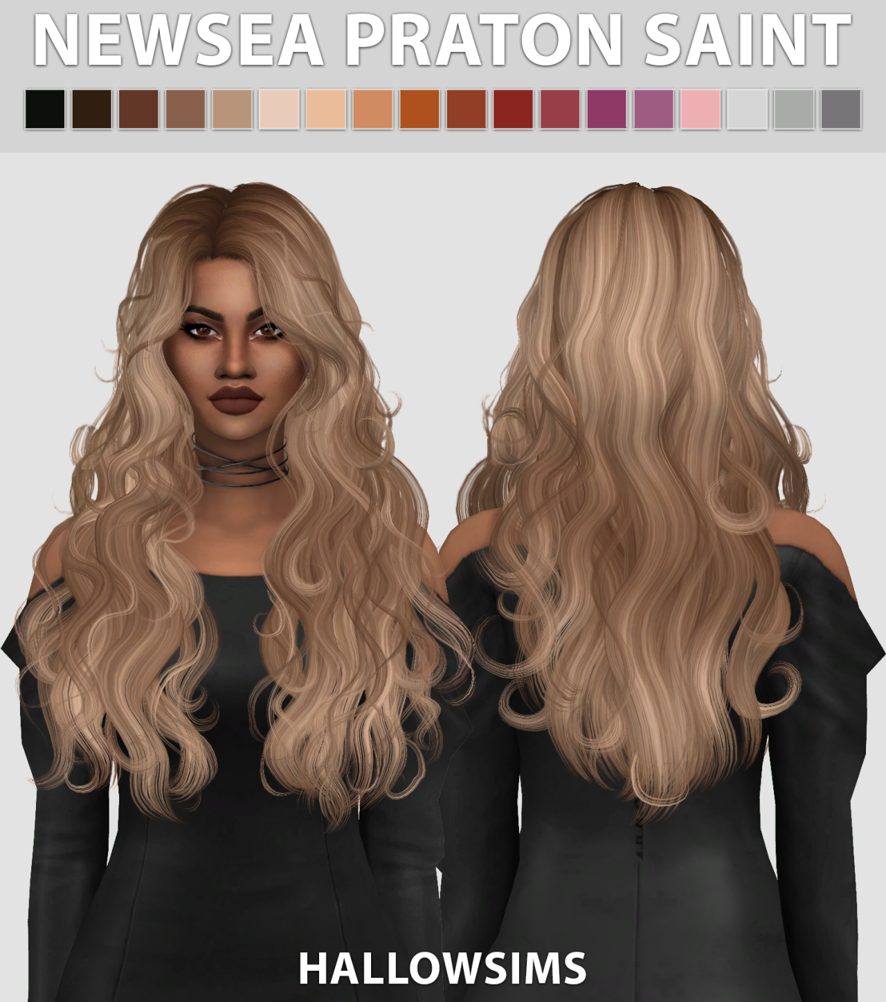 Curly Hair Download Sims 4 Cc: Comes In 18 Colours