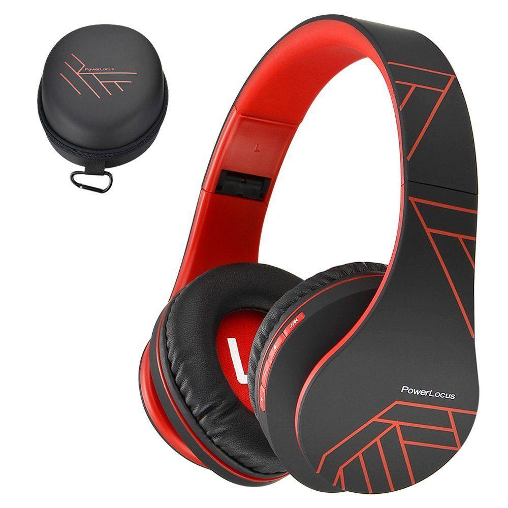 Powerlocus Casque Bluetooth Sans Fil Casque Audio Stéréo Pliable