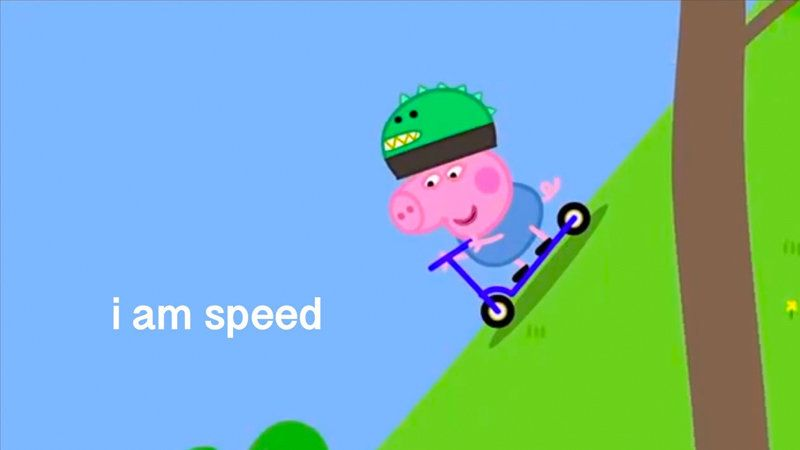 I Edited A Peppa Pig Episode Know Your Meme Peppa Pig Memes Peppa Pig Funny Pig Memes