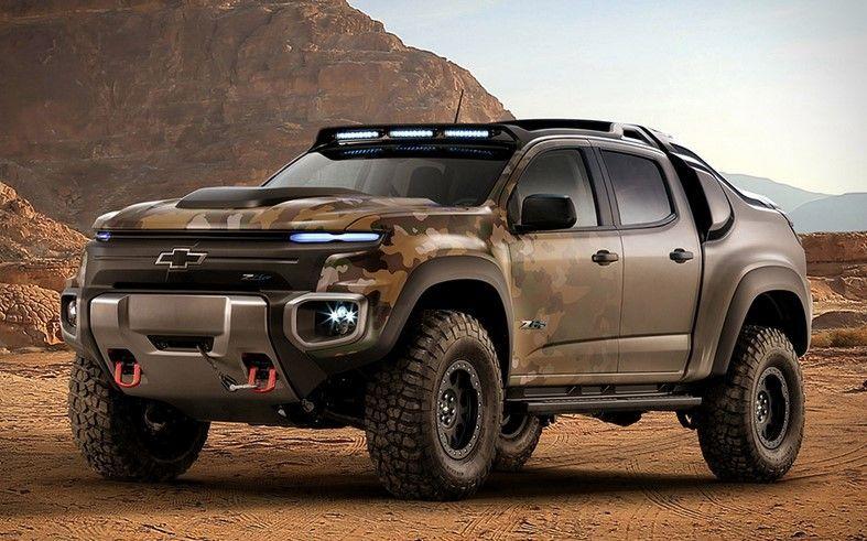 2017 Chevrolet Colorado Zh2 Chevrolet Colorado Army Truck Fuel