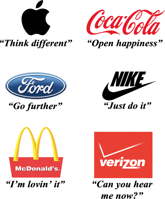 Tagline Examples Of Big Companies Business Company