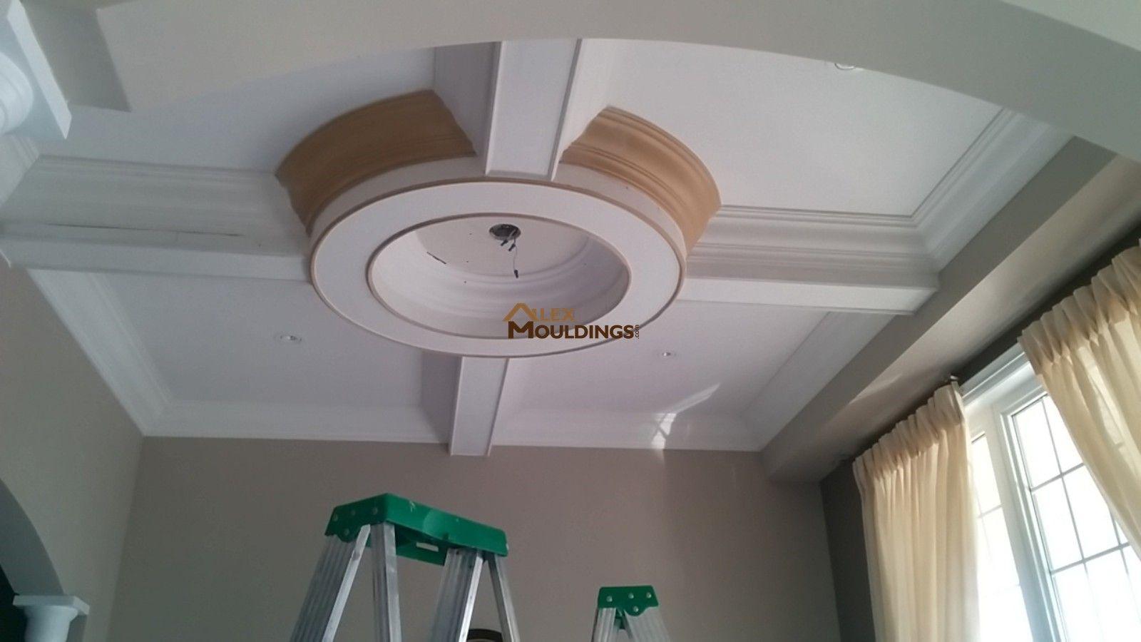 Round Coffered Ceiling Design