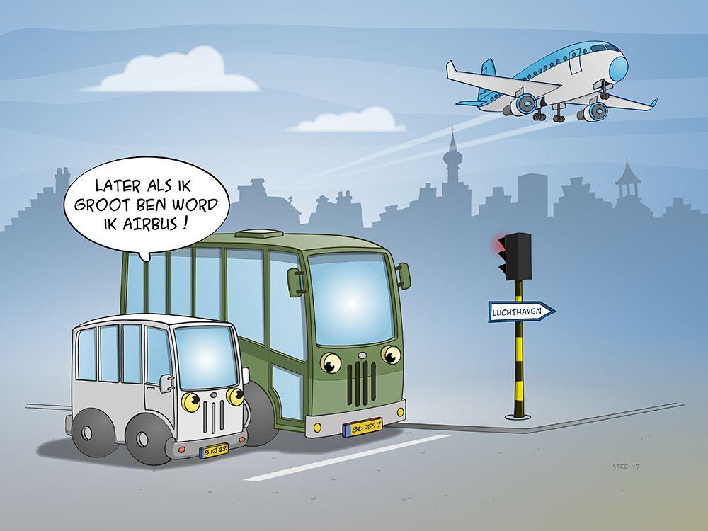 Later als ik groot ben ...  Meer #cartoons, #illustraties en #inspiratie @ www.stefringoot.com