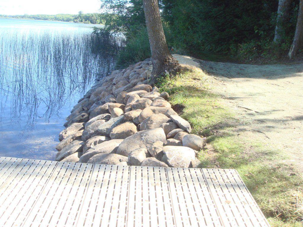 Shoreline Repair Lakeshore Rip Rap Shoreline