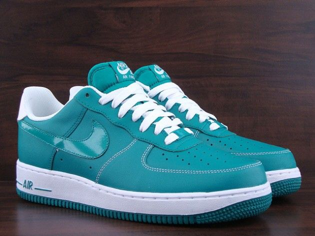 reputable site bf756 7325f Nike Air Force 1 Low – Lush Teal   White
