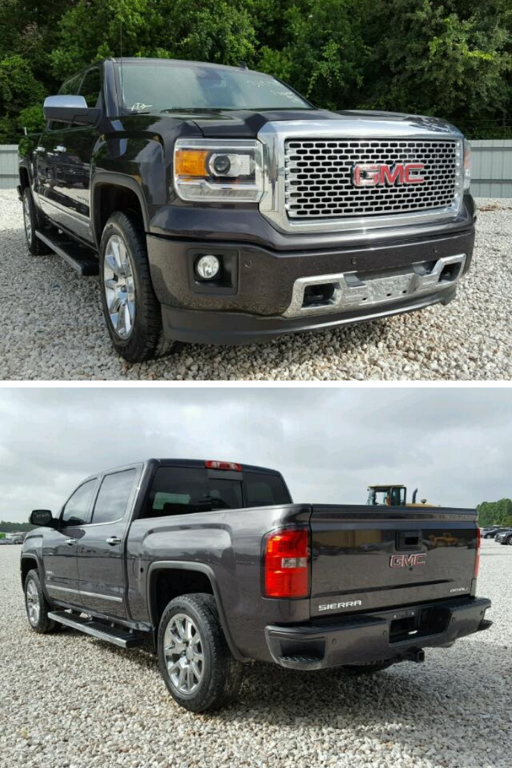 This 2014 GMC Sierra K1500 Denali is run and drive