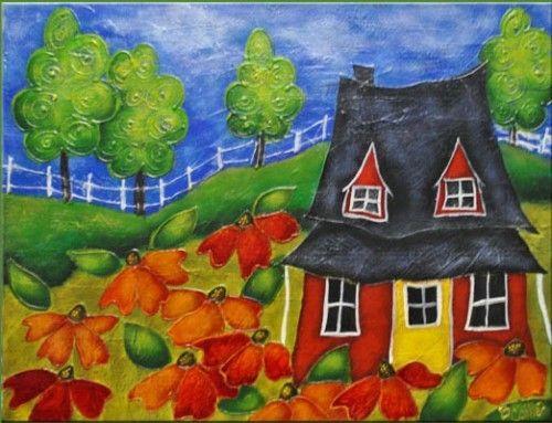 peinture sur toile pour d butant recherche google toile pinterest peintures sur toile. Black Bedroom Furniture Sets. Home Design Ideas