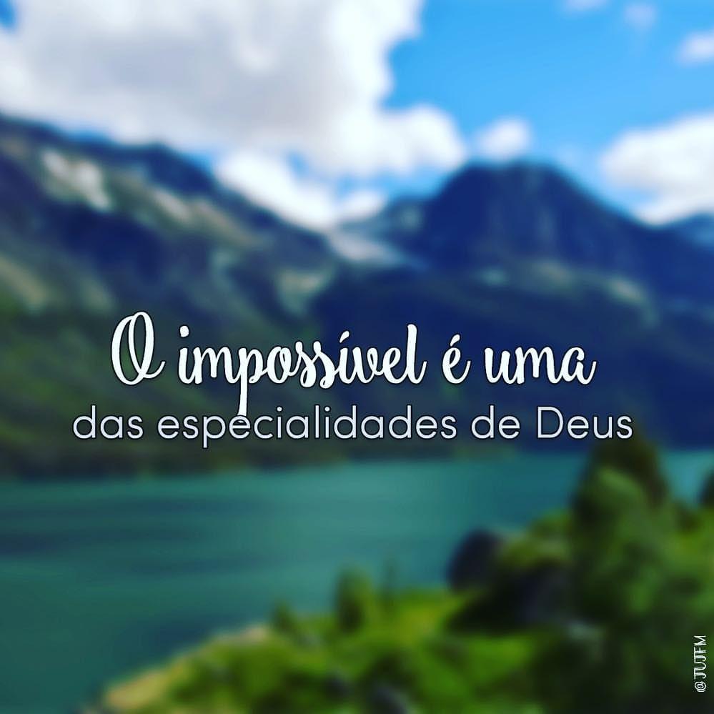 Porque Para Deus Nada E Impossivel Lucas 1 37 Jesus