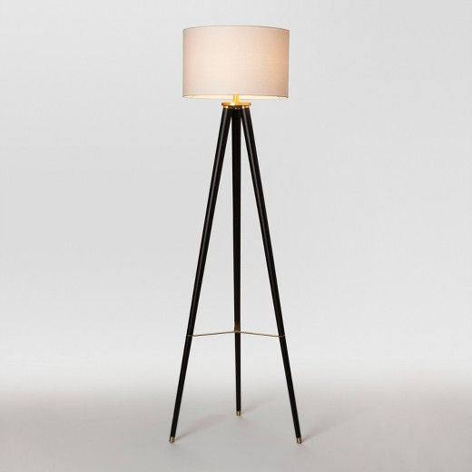 Delavan Metal Tripod Floor Lamp Brass Includes Cfl Light Bulb Project 62 Black Tripod Floor Lamp Black Floor Lamp Tripod Floor Lamps