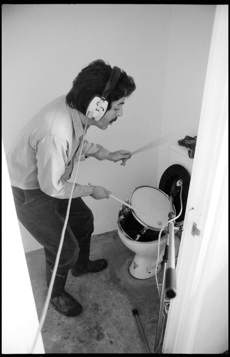 Paul During The Recording Sessions For McCartney II Photo By Linda